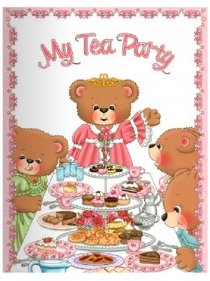 """Tea Party"" Personalized Book"