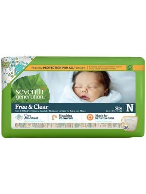 Seventh Generation Newborn (36 Diapers)