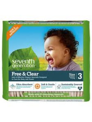 Seventh Generation Large (31 Diapers)