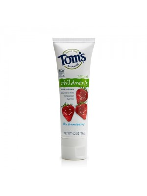 TOM's of Maine fluoride toothpaste (Strawberry)