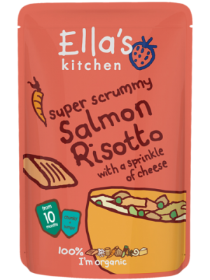 Ella's Kitchen Salmon Risotto