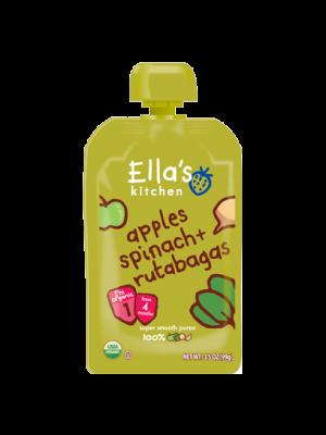 Ella's Kitchen Spinach Apple & Swedes