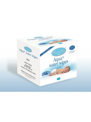 Purely Baby Aqua + Waterwipes Carton (8 packs x 70 wipes each)