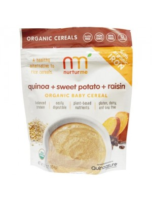 Nurturme Organic Baby Cereal (quinoa, sweet potato, raisin) 104g