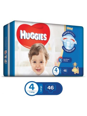 Huggies Large Size 4 (46 Diapers)
