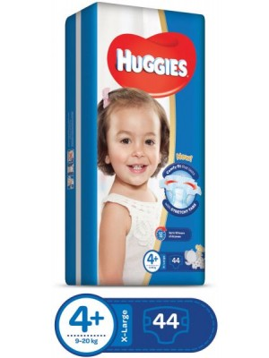 Huggies X-Large Size 4plus (44 Diapers)