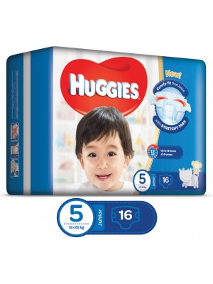 Huggies Junior Size 5 (16 Diapers)
