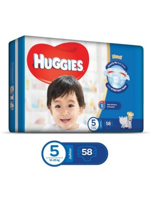 Huggies Junior Size 5 (58 Diapers)