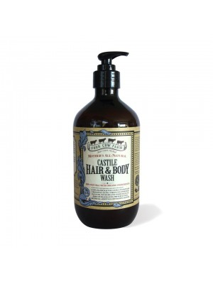 Four Cow Farm Mother's Castile Hair & Body Wash (485ml)