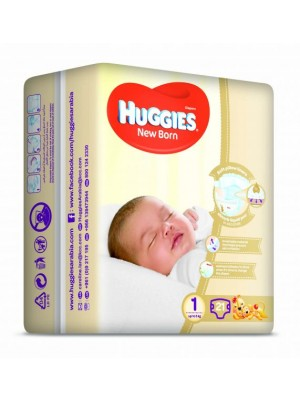 Huggies Newborn Size 1 (21 Diapers)