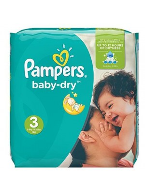 Pampers Medium Size 3 (68 Diapers)