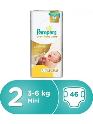 Pampers Premium Care Size 2 (46 diapers) 3-8kgs