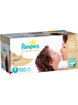 Pampers Premium Care Size 4 (Box of 100 diapers)