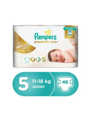 Pampers Premium Care X-Large Size 5 (46 diapers)