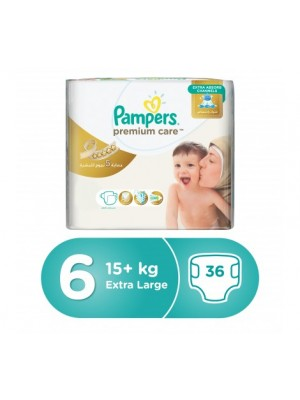 Pampers Premium Care XX Large Size 6 (36 diapers)