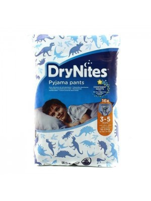 Drynites Pyjama Pants Boy 3-5 years old (16 count)