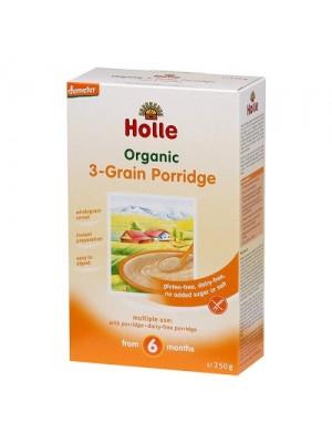 Holle 3-Grain Porridge (6m+)