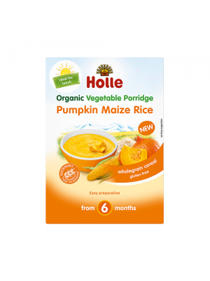 Holle Cereal Pumpkin Maize Rice (6m+)