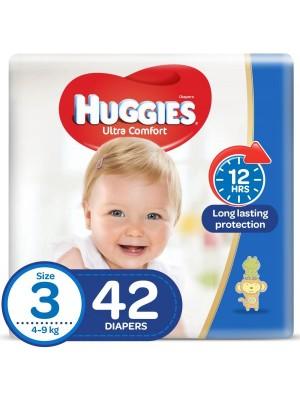Huggies Medium Size 3 (42 Diapers)