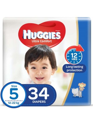 Huggies Junior Size 5 (34 Diapers)