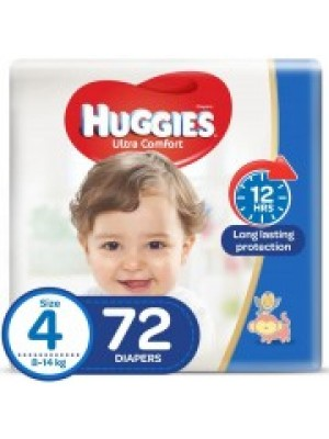 Huggies Large Size 4 (72 Diapers)
