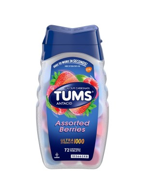 TUMS Chewable Tablets (72)